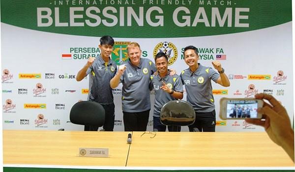 Persebaya Surabaya Pamer Jersey Baru Dalam Blessing Game