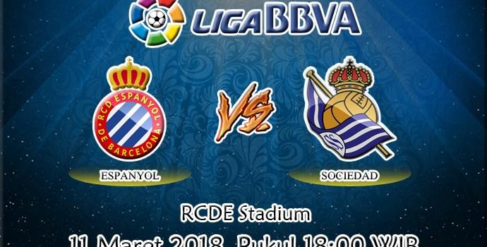 Prediksi Espanyol vs Real Sociedad 11 Maret 2018