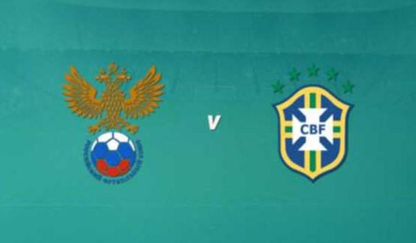 Prediksi Pertandingan Sepakbola Rusia VS Brasil Maret 2018
