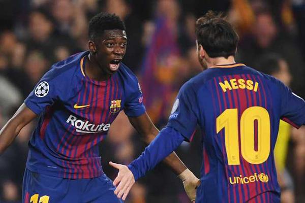Saya Akan Lama di Barcelona Ungkap Ousmane Dembele
