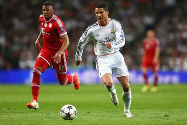 Boateng Ungkap Rencana Bayern Munchen Hentikan Cristiano Ronaldo