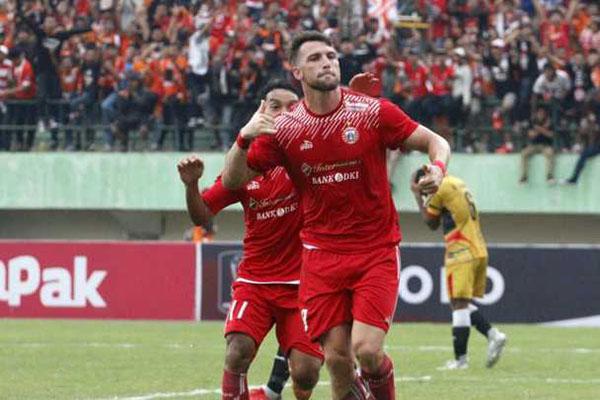 Bomber Persija Marko Simic Pemain Terbaik Pekan Kedua Liga 1