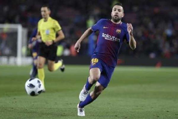Setelah Samuel Umtiti Kini Barcelona Pertahankan Jordi Alba