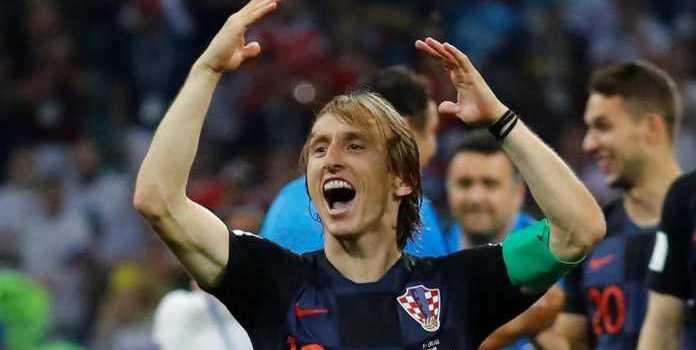 Gelandang Real Madrid Luka Modric Pemain Terhebat Timnas Kroasia