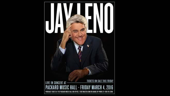 Jay Leno headed to Packard in March_57907