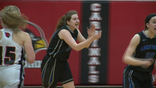 The Bulldogs held off a late rally from the Cardinals to win in overtime Wednesday._65099