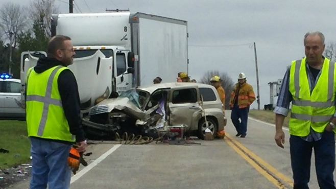 Highway Patrol_ One person dead, two injured in Beloit-area accident_71073