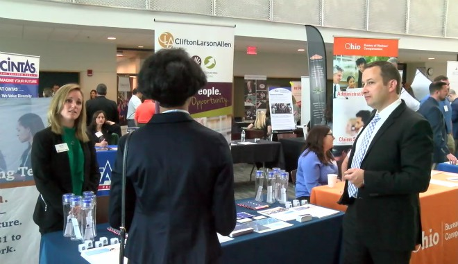 YSU job fair_136464