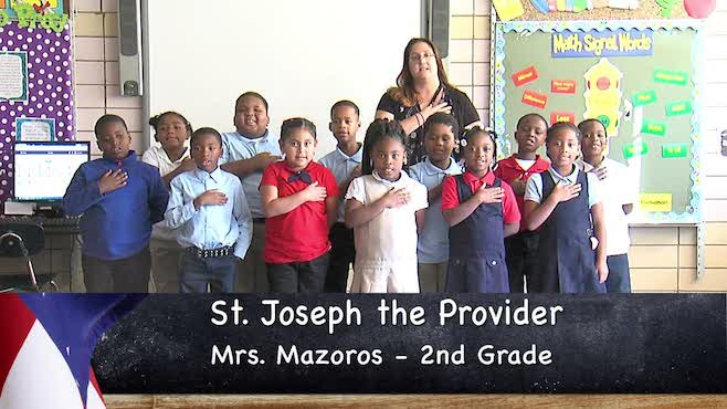 St. Joseph the Provider - Mrs. Mazoros - 2nd Grade_139026