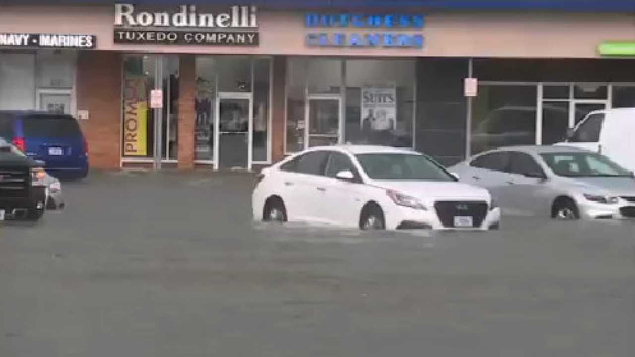Flooding at Boardman Plaza