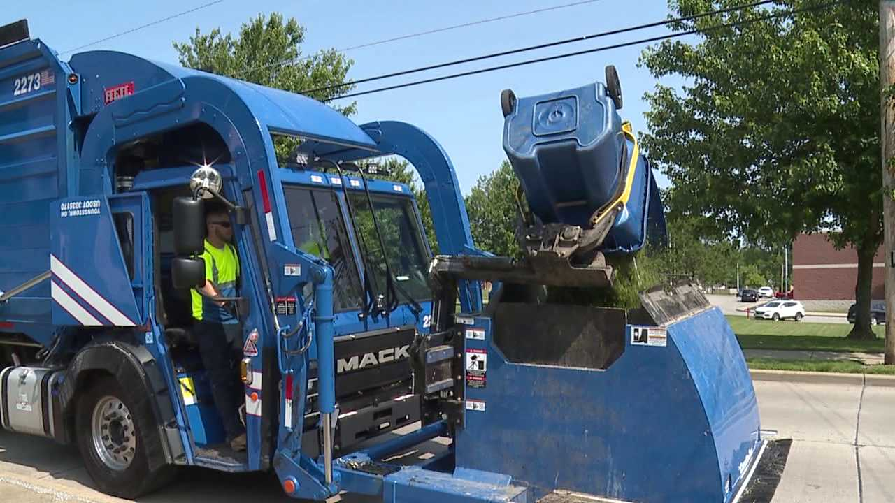 Republic Services garbage truck