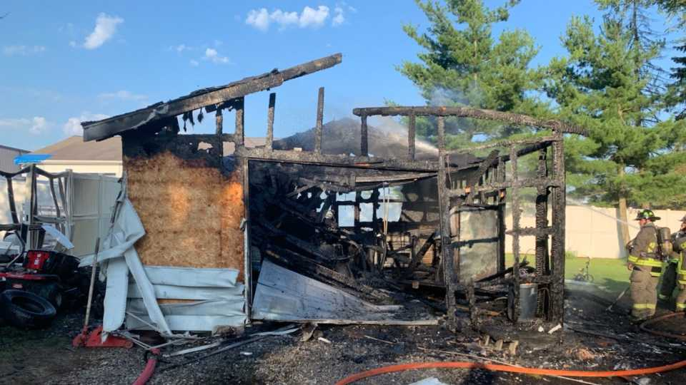 Champion House Fire, Holmes Avenue