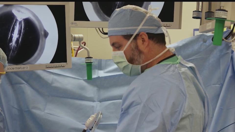 Life saving surgery