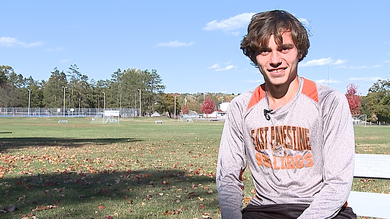 The East Palestine senior is a three-time Regional Qualifier in cross country and leads his class with a 4.0 GPA.