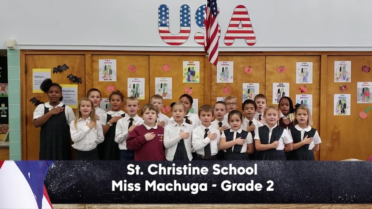 St. Christine School - Miss Machuga - 2nd Grade