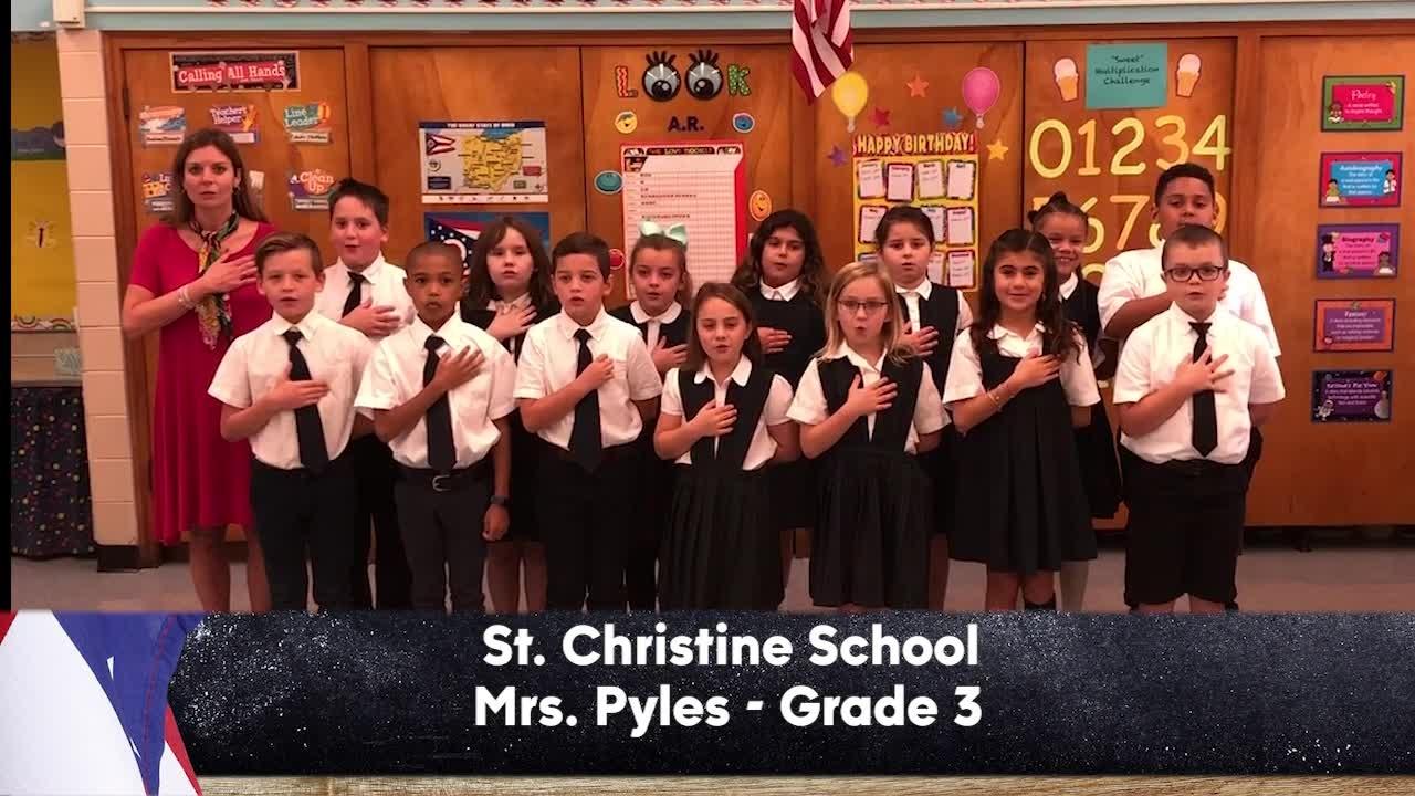 St. Christine School - Mrs. Pyles - 3rd Grade