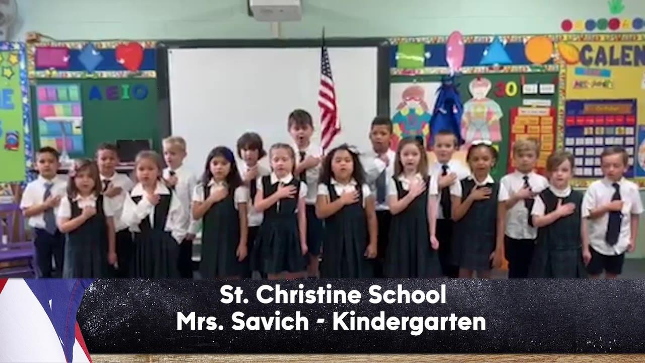 St. Christine School - Mrs. Savich - Kindergarten