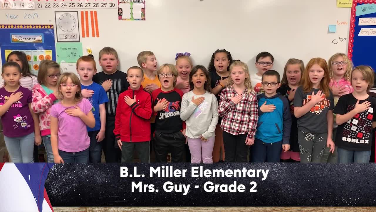 B.L. Miller Elementary - Mrs. Guy - 2nd Grade