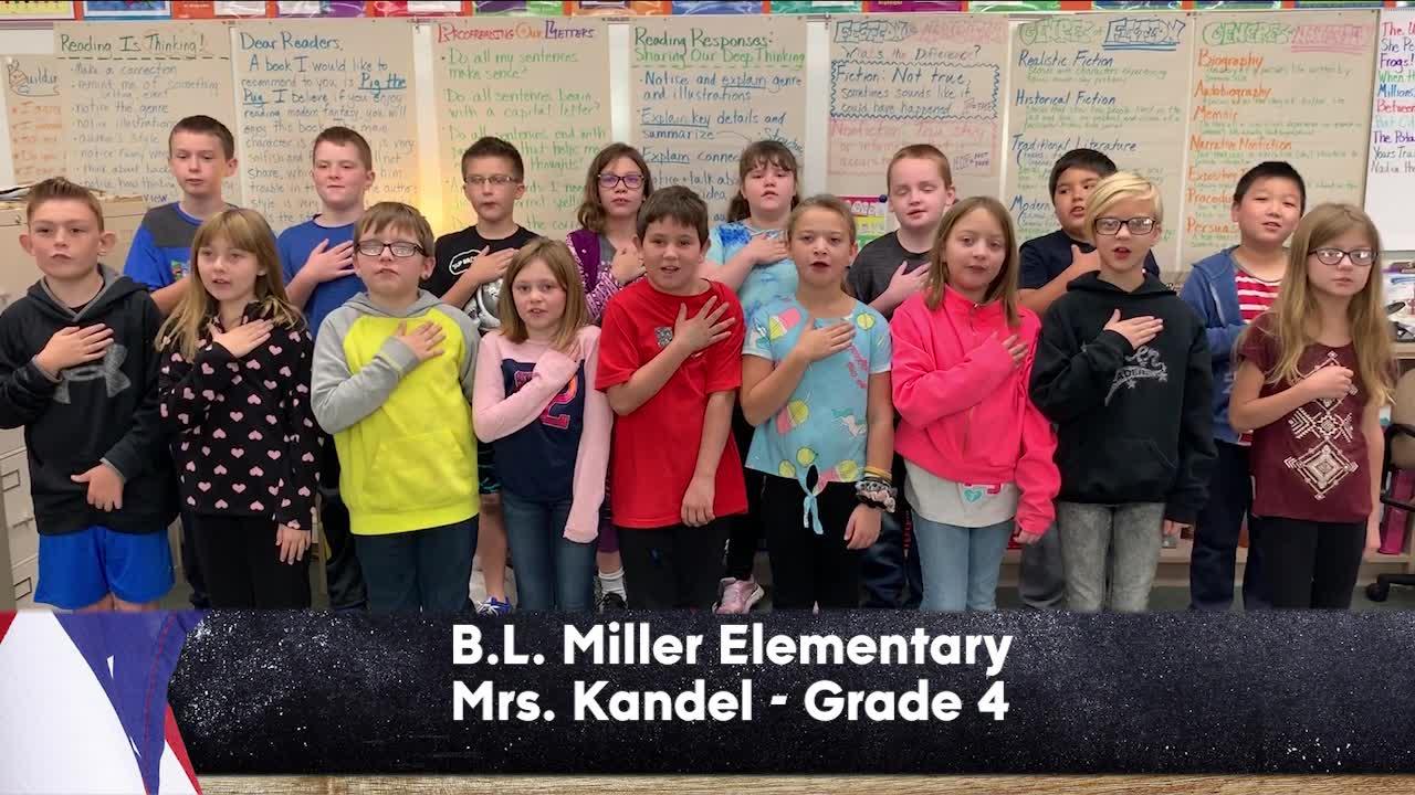 B.L. Miller Elementary - Mrs. Kandel - 4th Grade