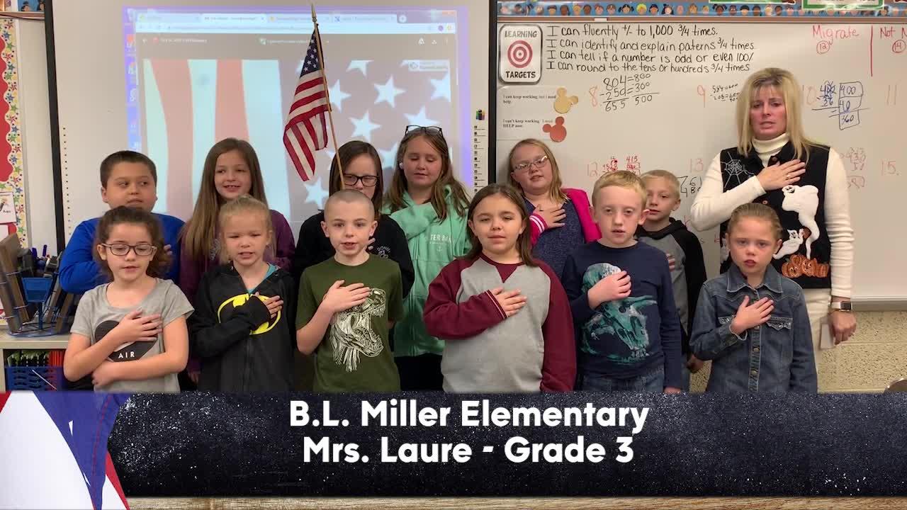B.L. Miller Elementary - Mrs. Laure - 3rd Grade