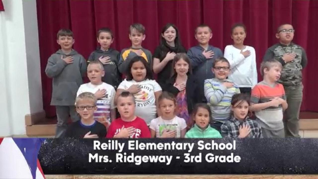 Reilly Elementary - Mrs. Ridgeway - 3rd Grade