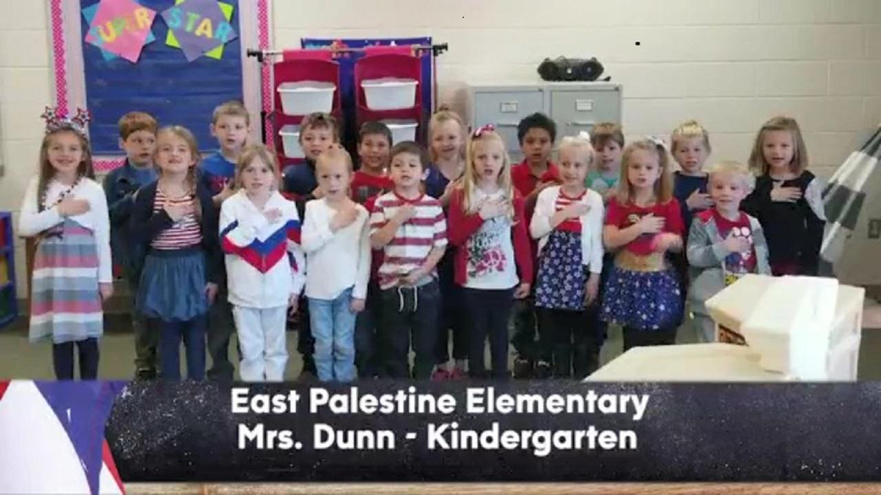 East Palestine Elementary - Mrs. Dunn - Kindergarten