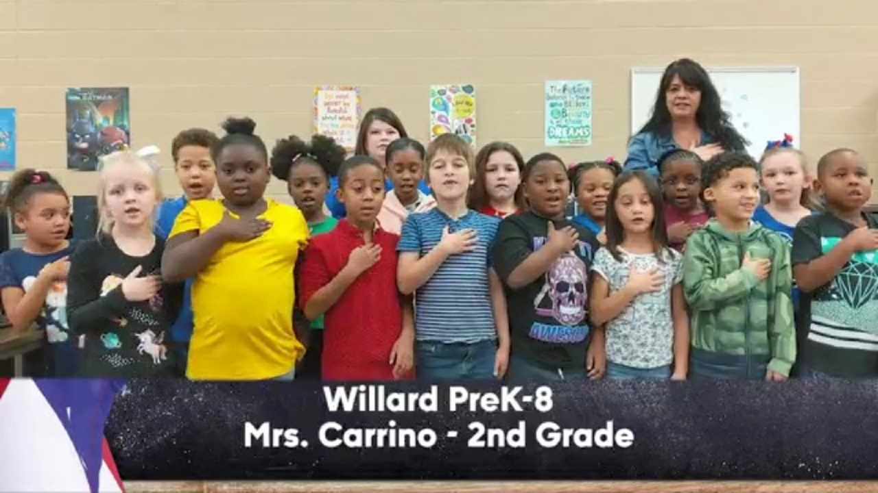 Willard PreK-8 - Mrs. Carrino - 2nd Grade