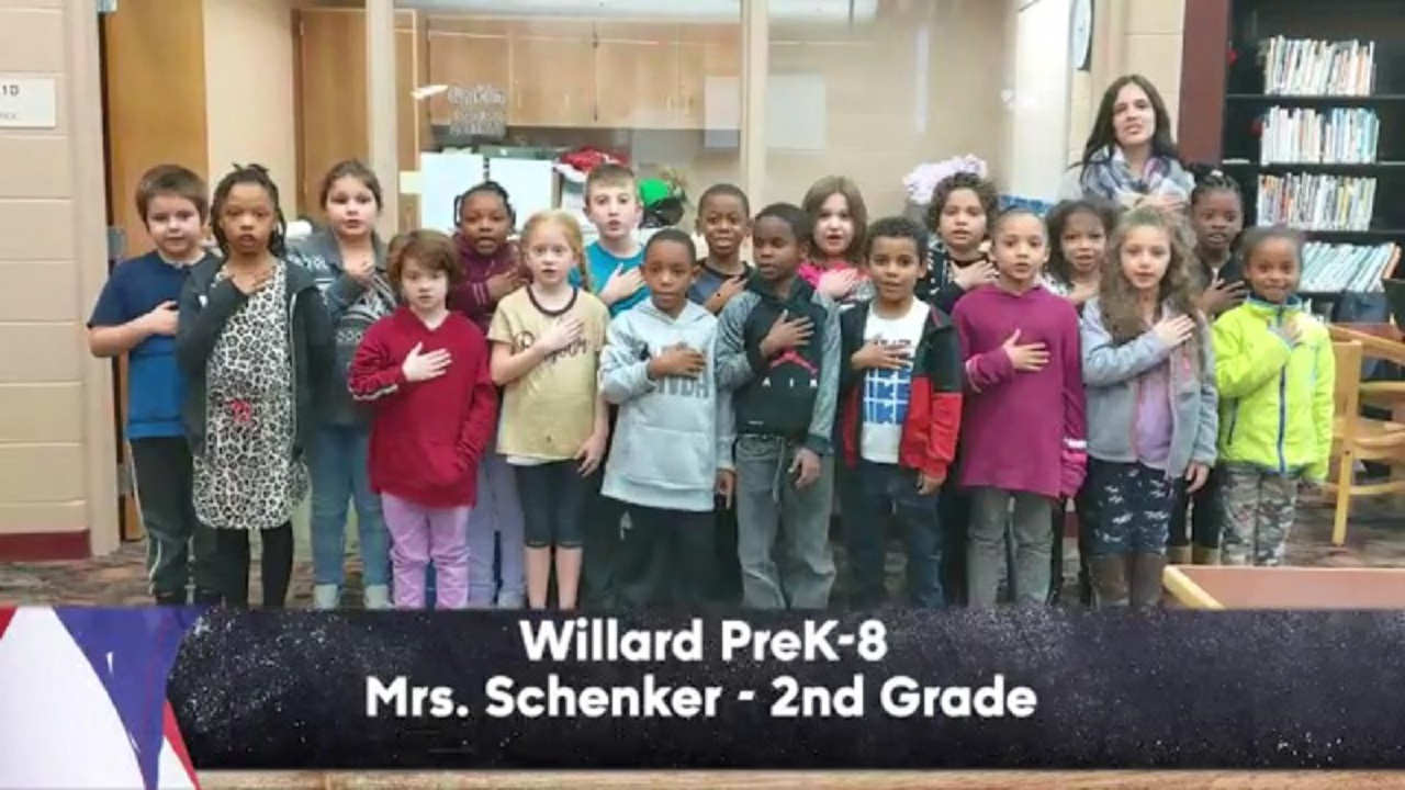 Willard PreK-8 - Mrs. Schenker - 2nd Grade