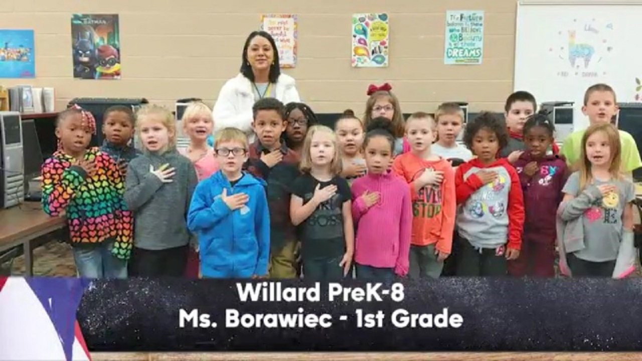 Willard PreK-8 - Ms. Borawiec - 1st Grade