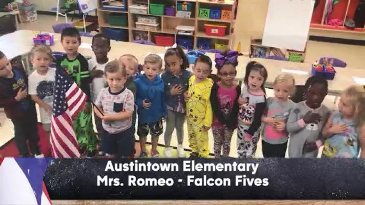 Austintown Elementary - Mrs. Romeo - Falcon Fives