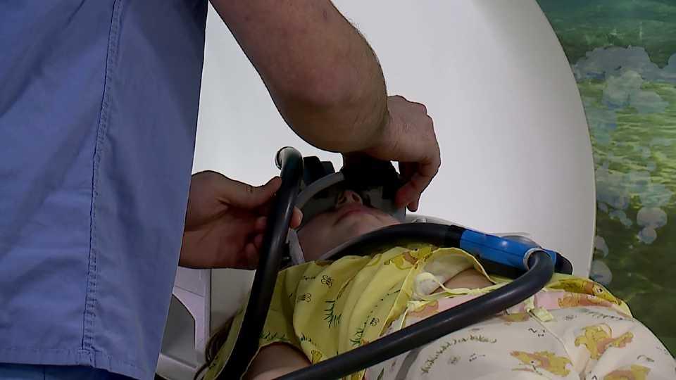 Akron Children's Hospital in Boardman sedation goggles
