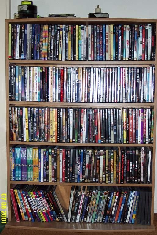 dvd shelves