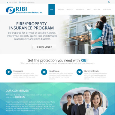 Online Services - Reliable Insurance Brokers Inc Online Portfolio