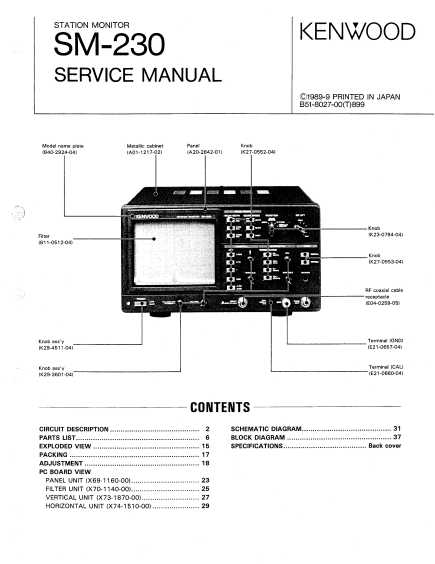 WZ5Q Service Manuals