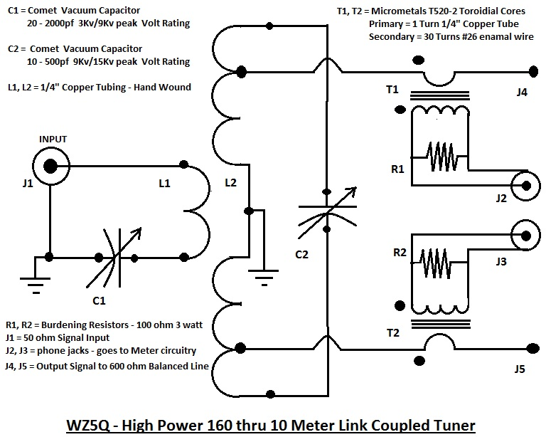 series capacitor schematic