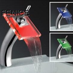 Led Kitchen Faucet Ninja Com Led瀑布水龙头 浴缸龙头 厨房龙头 面盆龙头 红外线自动感应水龙头 Led水龙头