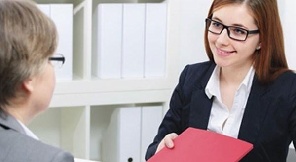 مقابلة عمل في بنك