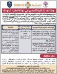 وظائف شاغرة في قطر برواتب من 15000 الى 17000 ريال شهري