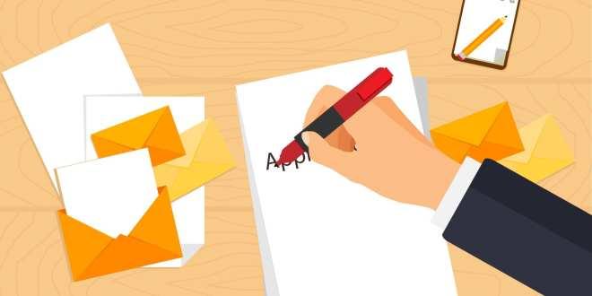 نموذج خطاب تقديمي لطلب وظيفة