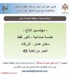 اعلانات توظيف متعددة صادرة عن مديرية تشغيل عمان