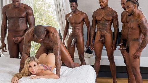 Multiple creampies interracial remarkable
