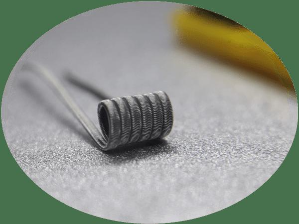 Stainless steel Alien coils Handmade vape coils