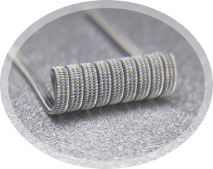 3 core serial staggered fused clapton coil