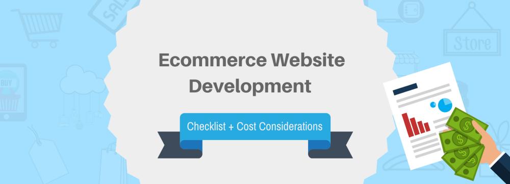 medium resolution of 67 point ecommerce website development checklist cost considerations