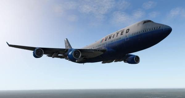 X Plane 11 Boeing 747 400 - Year of Clean Water