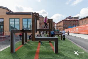 Gasverket parkour X2 Architects
