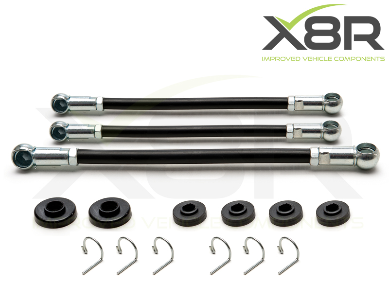 For Peugeot 106 Citroen Saxo Gear Linkage Push Rods 3pc