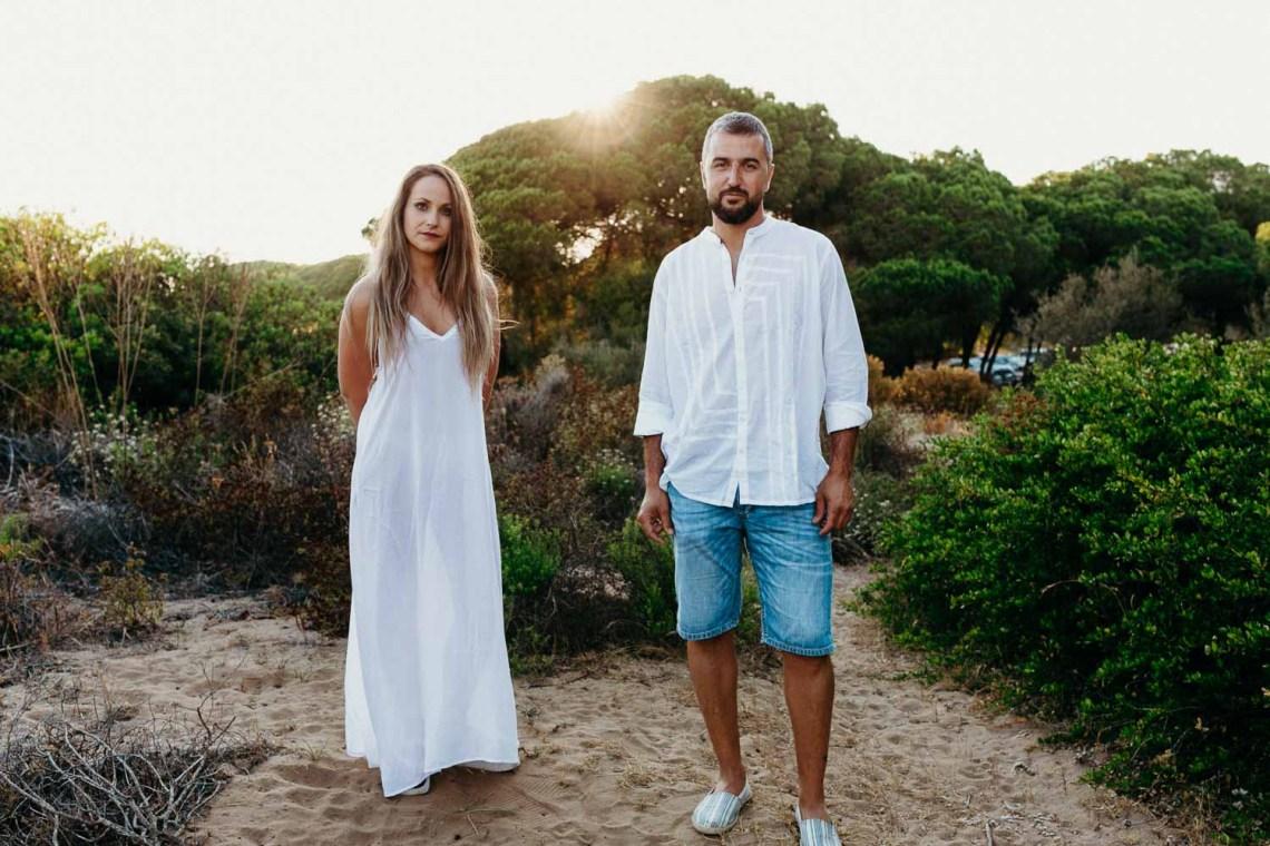 Preboda en la playa con Xabi and Cris