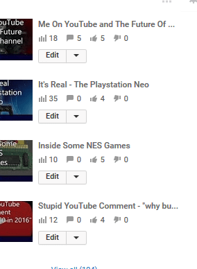 Most of my newer videos are fine, albeit most also have rather low view numbers.