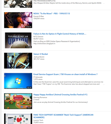 The list view is so much more clean, and better for more refined video listings.